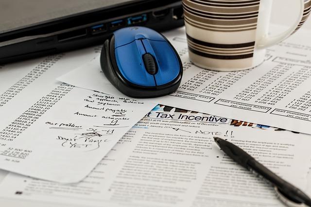 daňový formulář