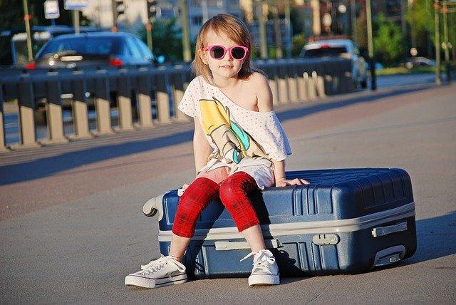 malá cestovatelka
