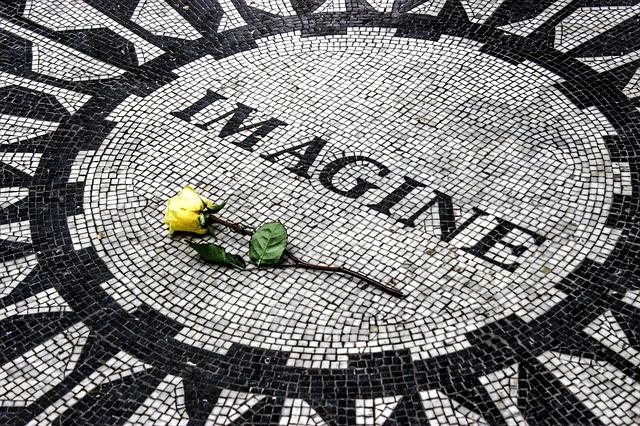 růže na pomníku