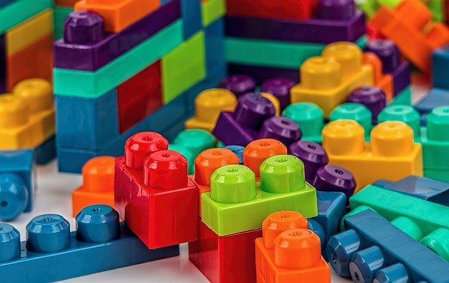kostky na stavění